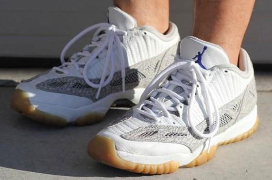 """Original Air Jordan 11 Low IE """"Cobalt"""" Photo via via MJO23DAN"""