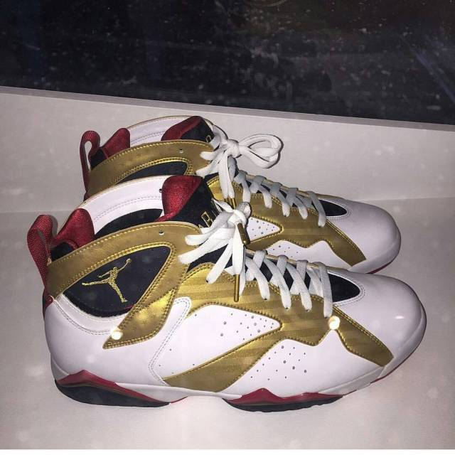 Jordan 7 Chris Paul Olympic PE by @Sneaker_Galactus