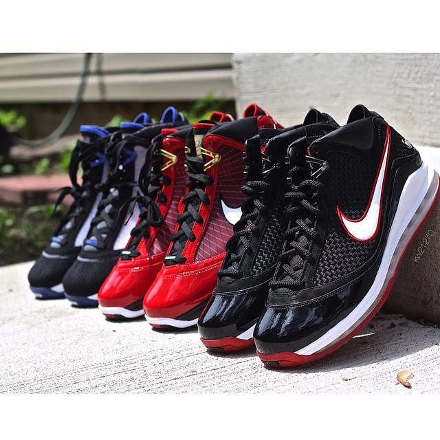 Nike LeBron 7 Heroes Pack by @kw21270