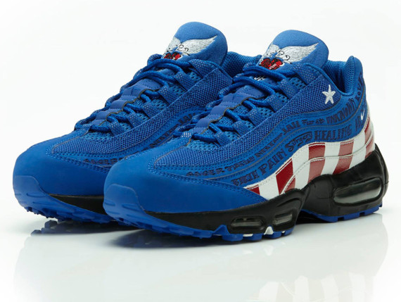 """Nike Air Max 95 """"Doernbecher"""" by Mike Armstrong"""