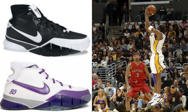 Nike Zoom Kobe I - Nike Air Zoom Huarache 2K5 - Nike Air Zoom Huarache 2K4 - via Cardboardconnection