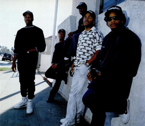 Eazy-E Wearing the Nike Cortez, Dr Dre and Ice Cube Wearing the Nike Air Force STS
