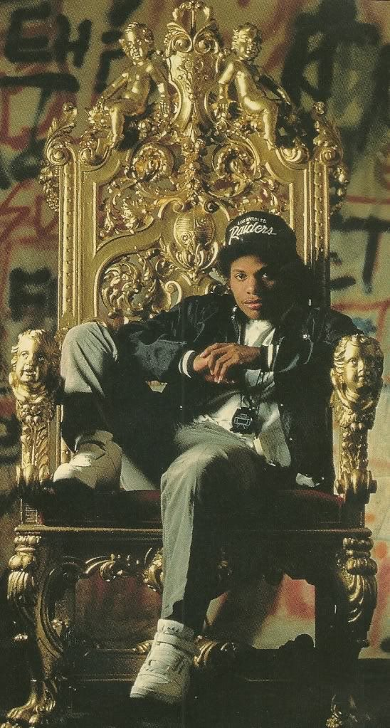 Straight Outta Compton: NWA's Sneaker Legacy - Eazy-E Wearing the adidas Forum Hi