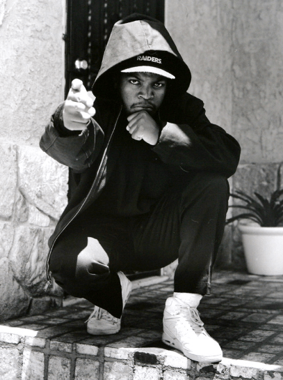 Straight Outta Compton: NWA's Sneaker Legacy - Ice Cube Wearing the Nike Air Flight 90 High
