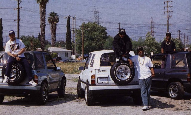 Straight Outta Compton: NWA's Sneaker Legacy - Yella Wearing the Nike Air Jordan 3 True Blue