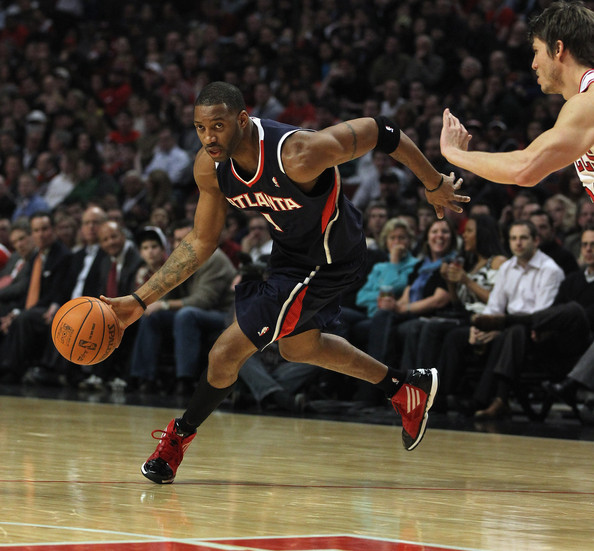 Tracy McGrady wearing the adidas adizero Ghost 2