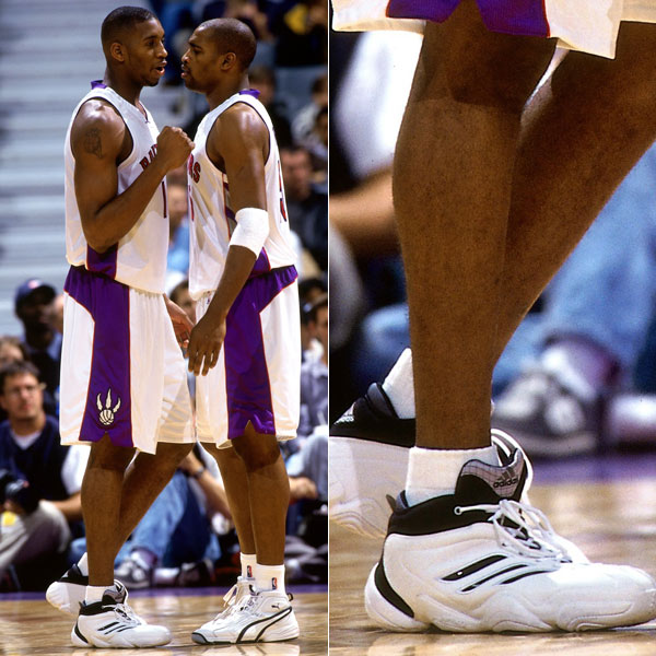 Tracy McGrady wearing the adidas KB8 III in 1999