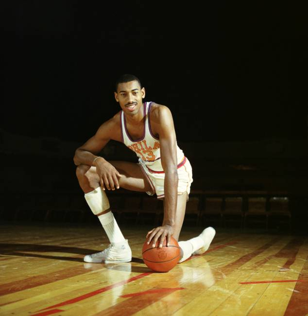Wilt Chamberlain in Converse Chuck Taylor All Star