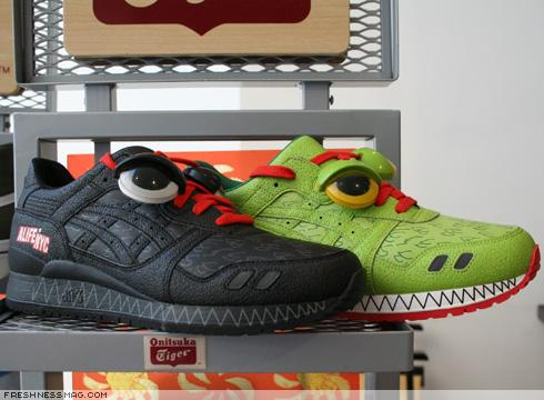 "ALIFE x ASICS Gel Lyte III ""Monster"" Pack photo via Freshness"