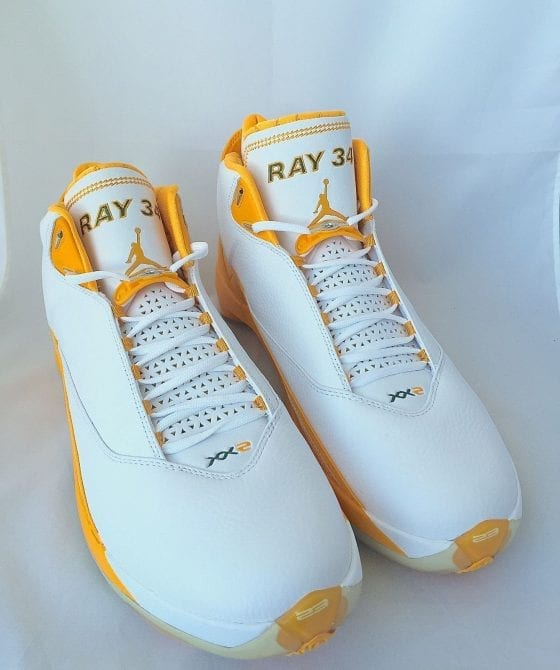 Jordan 22 Ray Allen Sonics Player Exclusive For Sale