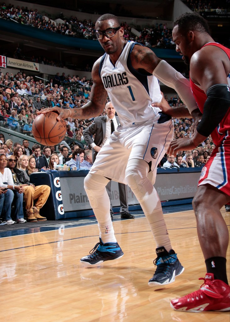 Amar'e Stoudemire in Nike Zoom Soldier 8