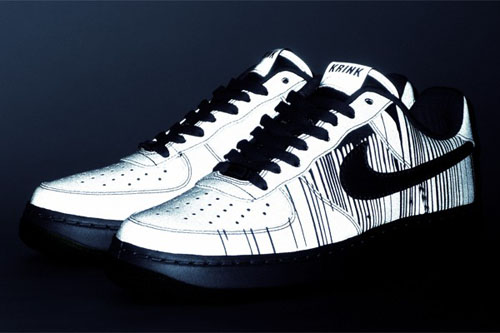 "KRINK x Nike Air Force 1 ""1World"""