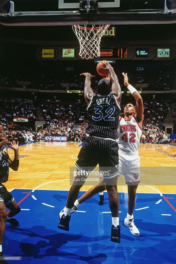 shaq triple double 1993