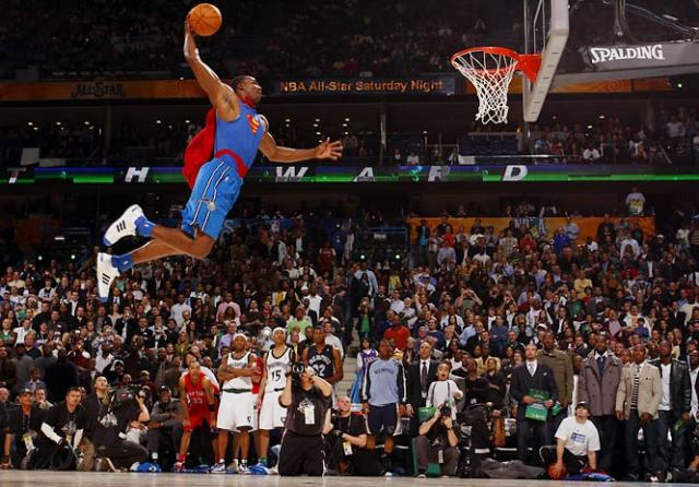 Dwight Howard's Superman Dunk Contest Win in 2008