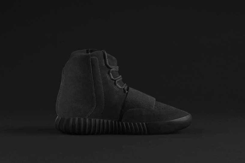 adidas Originals Yeezy Black High Top