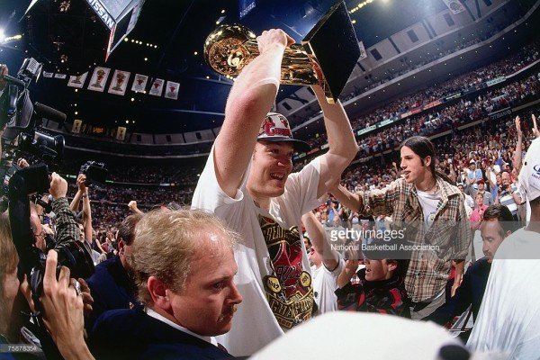 luc longley 1996 NBA championship
