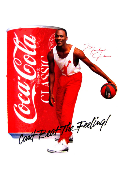 Coca Cola Ad featuring Michael Jordan 1988