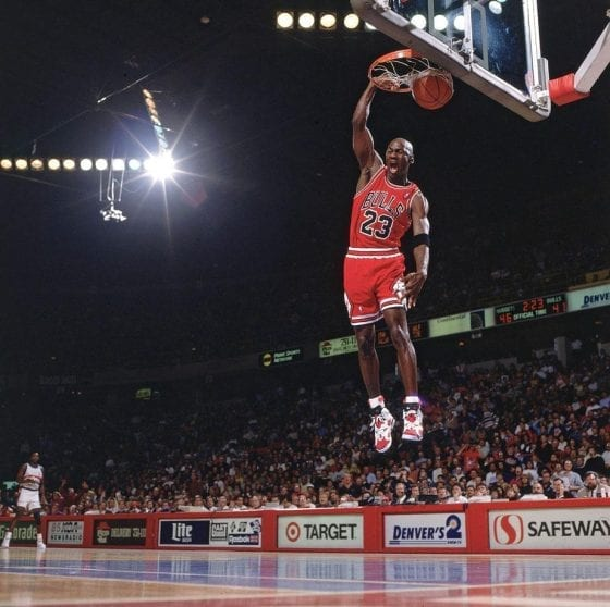 Michael Jordan Photos: Jordan 6 Carmines Slam Dunk