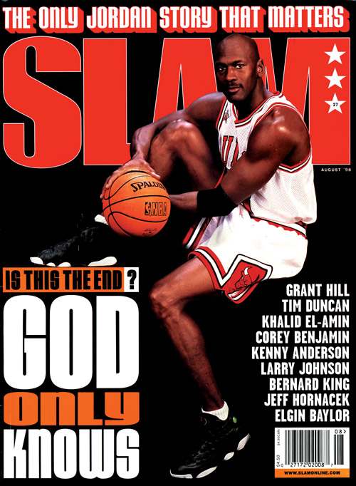 Slam Magazine: Jordan Cover 1998