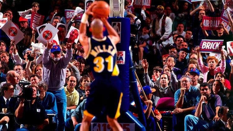 Reggie Miller Free Throw