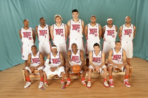 2008 Western Conf. Roster