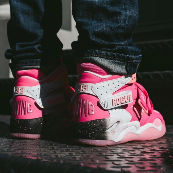 """Ewing Rogue """"Breast Cancer Awareness"""" Pink Sneakers"""