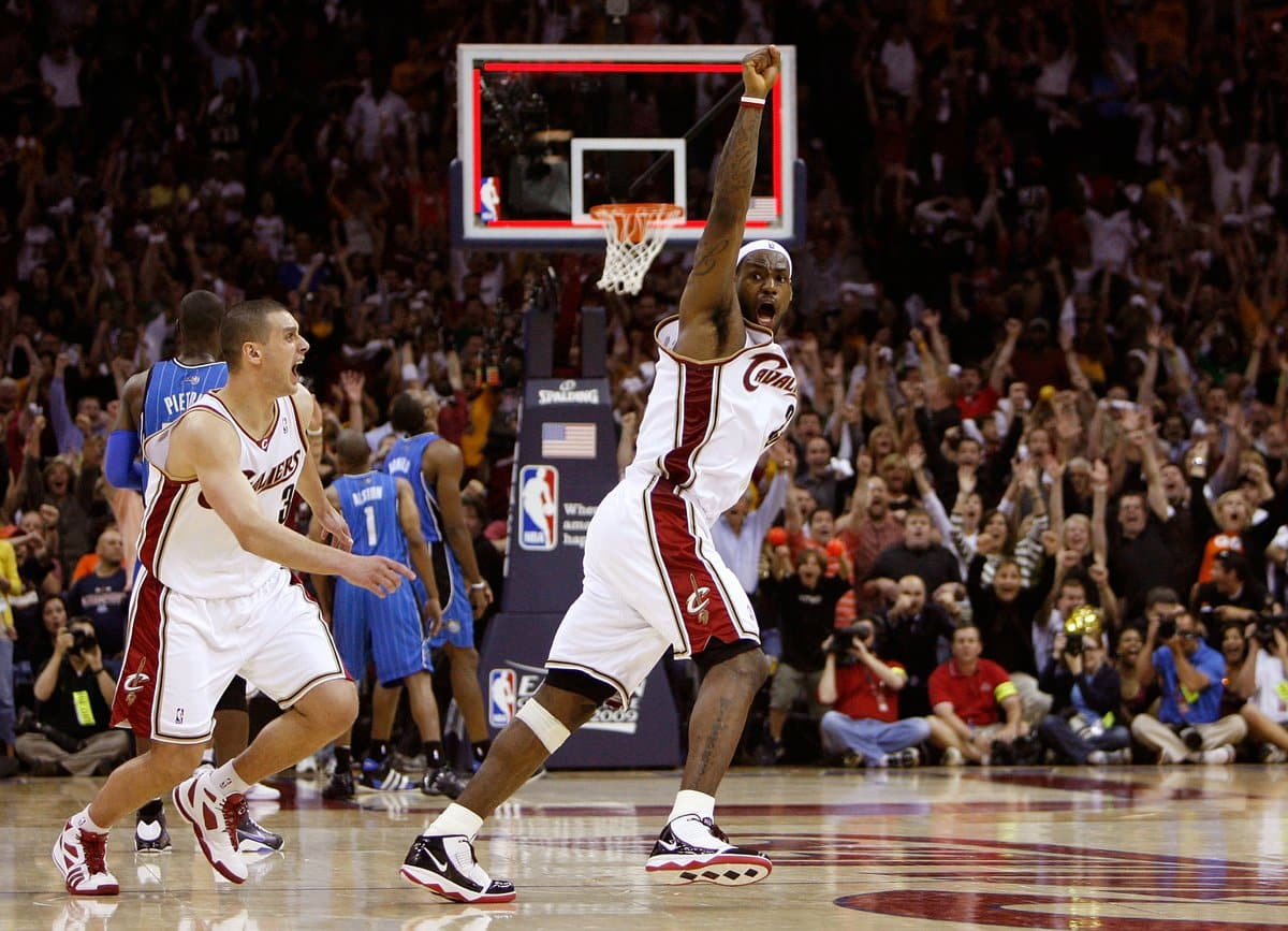 LeBron James 2009 Game-Winner over the Orlando Magic.