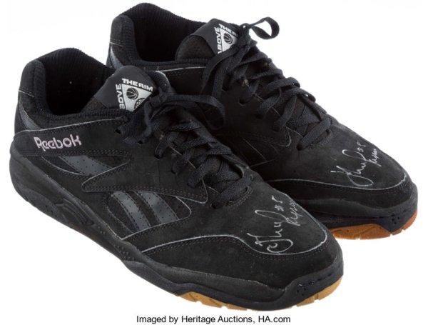 John Paxson Game Worn Reebok Shoes