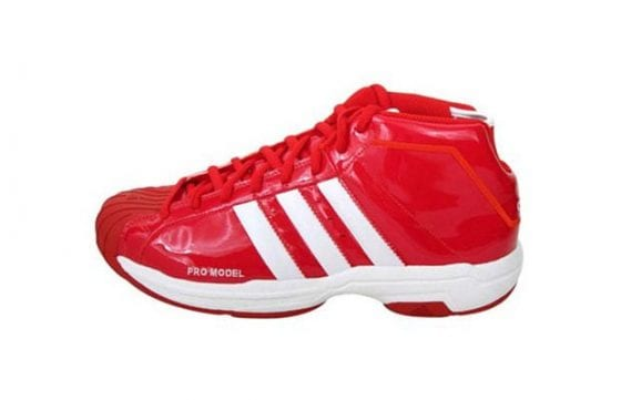 """adidas Superstar Promodel basketball shoes """"PUT YOUR FEET"""