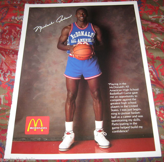 MJ Posters - McDonald's High School All American