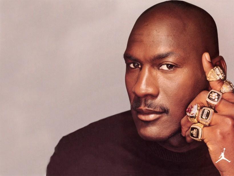 Michael Jordan Posters - Jumpman 6 Rings Photo