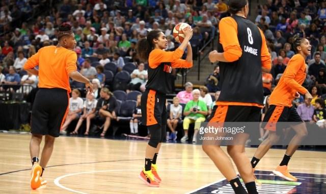 WNBA All-Star Practice 2018