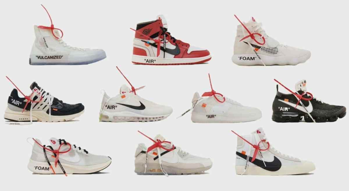 Off-White The Ten Nike Collab