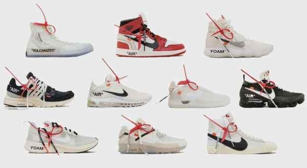 Off-White The Ten Nike Collab