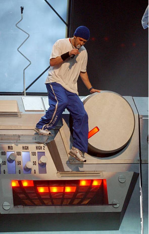 Justin Timberlake sneakers - Air Max 2001