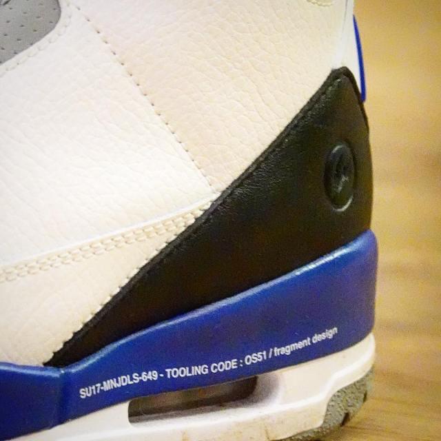 fragment design x Air Jordan 3 (unreleased) worn by Hiroshi Fujiwara