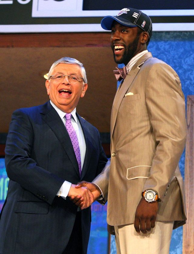 David Stern and James Harden