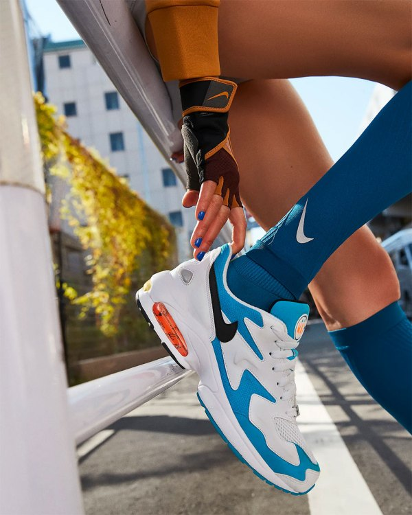 Nike Air Max2 Light 'Blue Lagoon' Retro