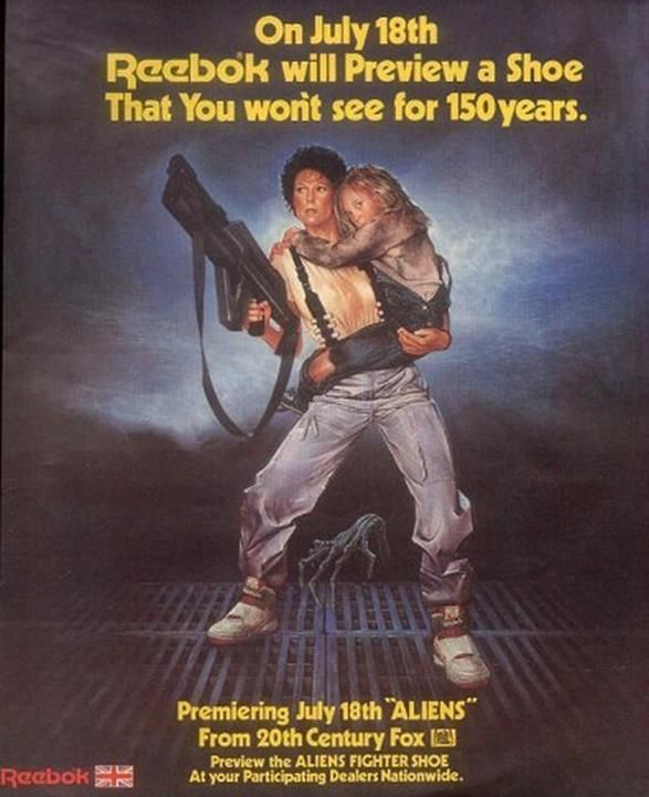 Alien Movie Sneakers - Reebok Alien Stomper Ad