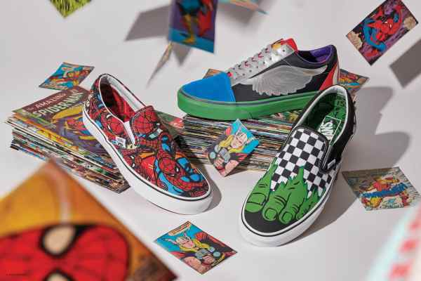 Comic and Sneakers