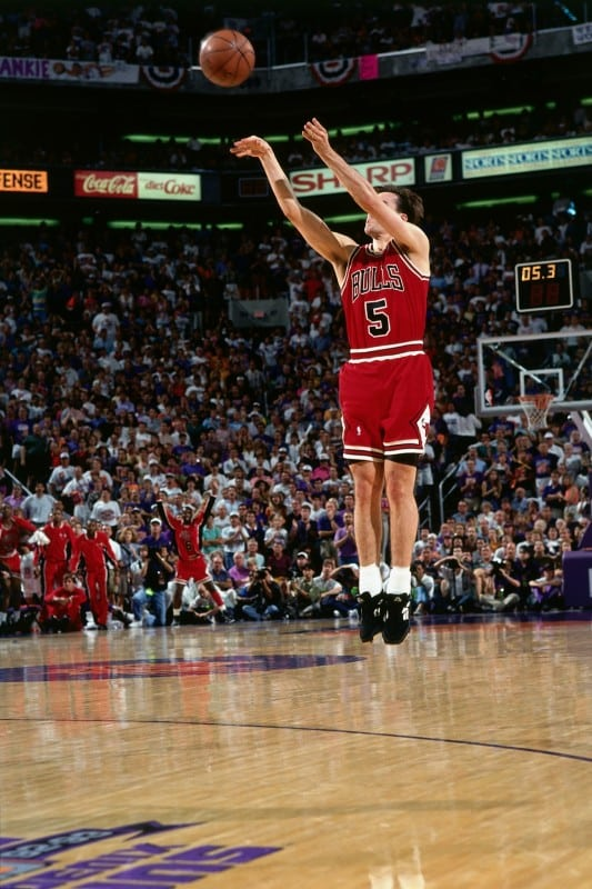 John Paxson in the Reebok D-Factor Low