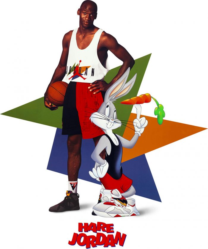 Hare Jordan - Michael Jordan and Bugs Bunny - Air Jordan 7