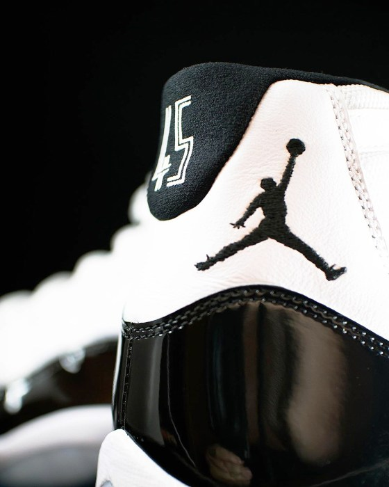 Jumpman Logo Air Jordan 11 Concords Detailed Photos