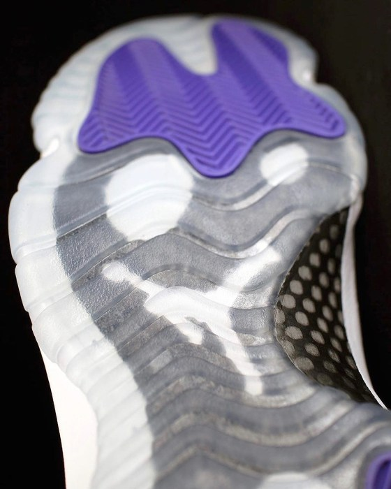 Outsole - Air Jordan 11 Concords Detailed Photos