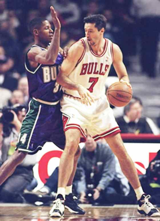 Toni Kukoc in the Jordan Jumpman Team 2