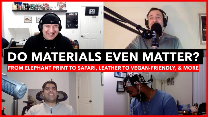 Sneaker Materials
