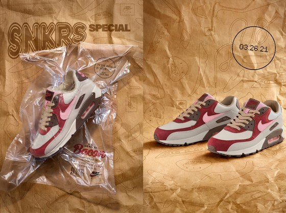 Nike Air Max 90 Bacon Release Date