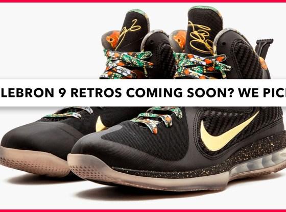 Nike LeBron 9 Retros