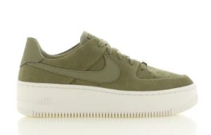 Nike Air Force Sage Low Groen Dames
