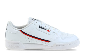 adidas Continental 80 Wit/Rood